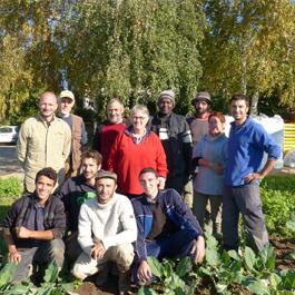 L'équipe de la SCA Le Biotope